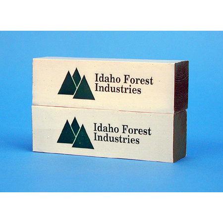 USA TRAINS Ladung Holzpakete Idaho Forest für Center Beam Flat Car
