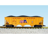 Coal Hopper Union Pacific with Flag