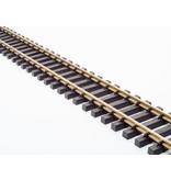 Train Line 10 x 60 cm gerades Gleis (1 Paket) mit Schraubverbindern