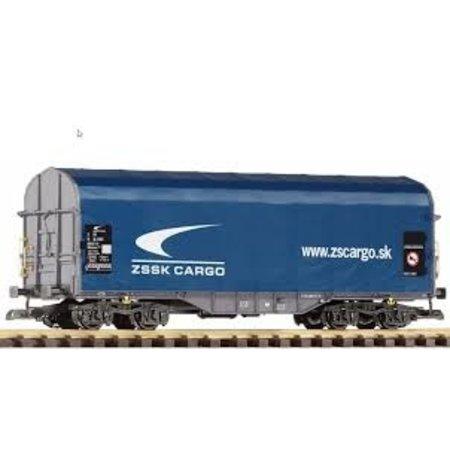 PIKO G Schiebeplanenwagen Shimmns Zssk Cargo