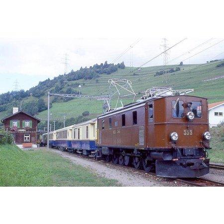 Train Line RhB Ellok Ge 4/6 351 DCC/Sound ZIMO