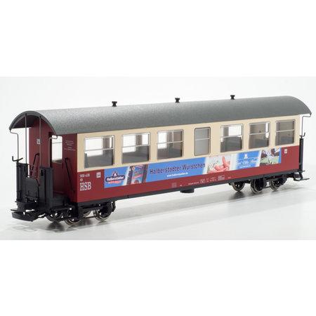 """Train Line HSB Personenwagen """"Halberstädter Würstchen"""" 7 Fenster 900-439"""