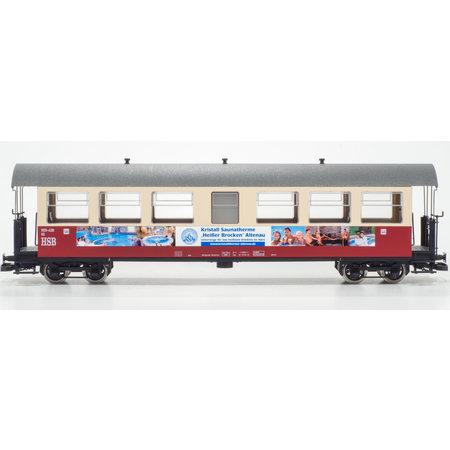 """Train Line HSB Personenwagen """"Kristalltherme"""" 7 Fenster 900-439"""