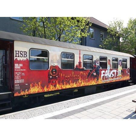 Train Line HSB FAUST-Sonderwagen