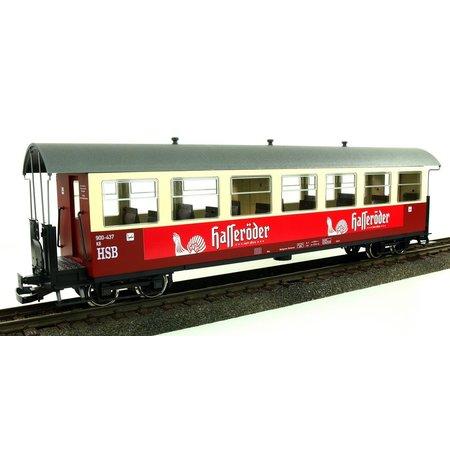 """Train Line HSB Personenwagen, 7 Fenster 900-435 """"Hasseröder Pils"""""""