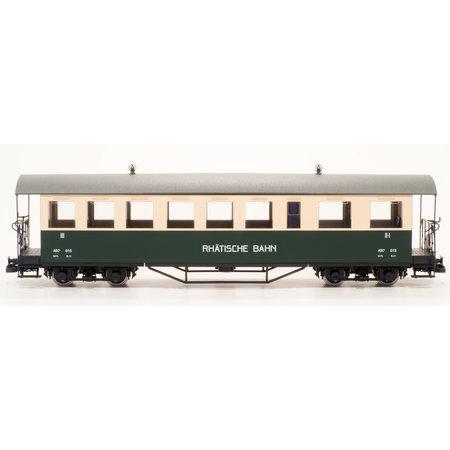 Train Line RhB Personenwagen ABC 615 grün/beige