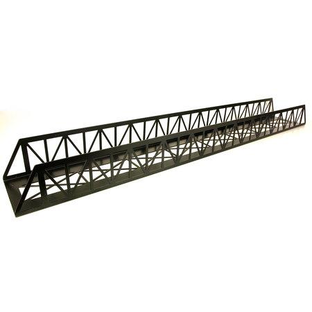 Train Line Brücke Stahl, gerade 120cm