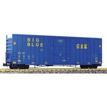 50 ' Hi-cube Box Car CSX Big Blue