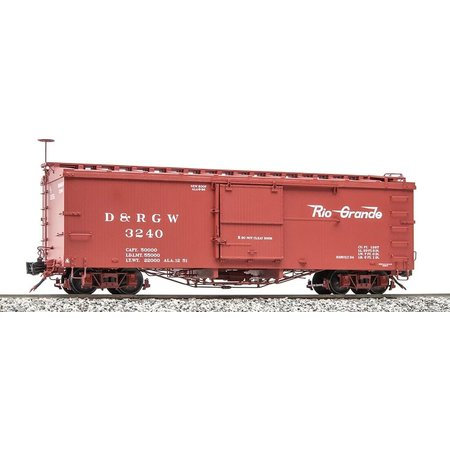 AMS G Box Car D&RGW Flying Rio Grande  #3240