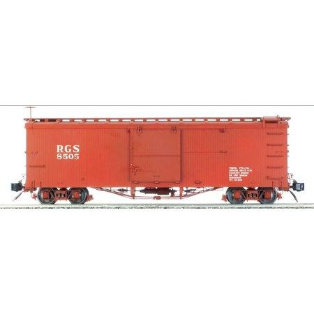 AMS G Box Car Rio Grande Southern RGS #8512