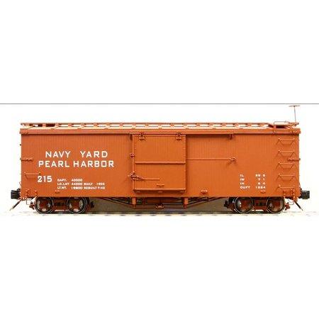 AMS G Box Car Navy Yard Pearl Harbor #218
