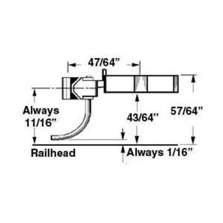 Kadee #742 Spur 0 Kupplung (2 Paare)