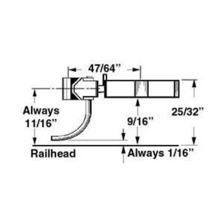 Kadee 745 Spur 0  Kupplungen mit Schacht (2 Paar)