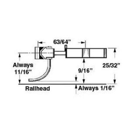 Kadee #746 Spur 0 Kupplungen mit Schacht (2 Paar)