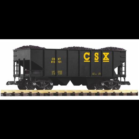PIKO G Schüttgutwagen CSX mit Kohleladung