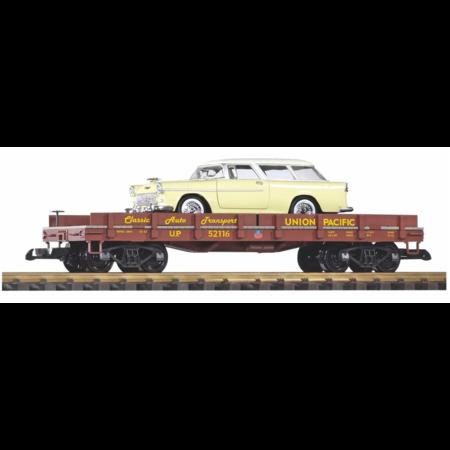 PIKO G Autotransportwagen beladen Chevy Nomad
