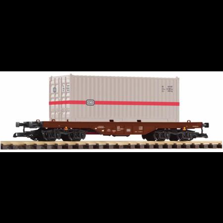 PIKO G Flachwagen mit 20' Container