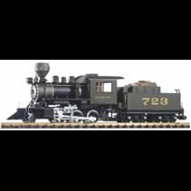 G Dampflok mit Tender Mini-Mogul SF