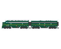 F7 AB Pennsylvania (2 komplette Loks) Farbe: Brunswick grün