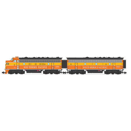 USA TRAINS F7 AB Southern Pacific (2 komplette Loks) Farbe: Daylight