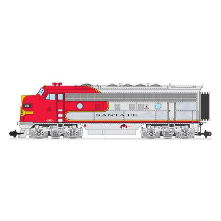USA TRAINS F7 A Santa Fe  Warbonnet Chrome