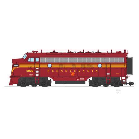USA TRAINS F7 A Pennsylvania (tuscan)
