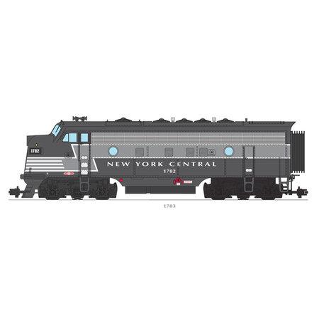 USA TRAINS F7 AB New York Central mit hellem Streifen / grau