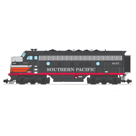 USA TRAINS F7 A Southern Pacific Black Widow