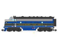 F7 A Baltimore & Ohio  blau/grau