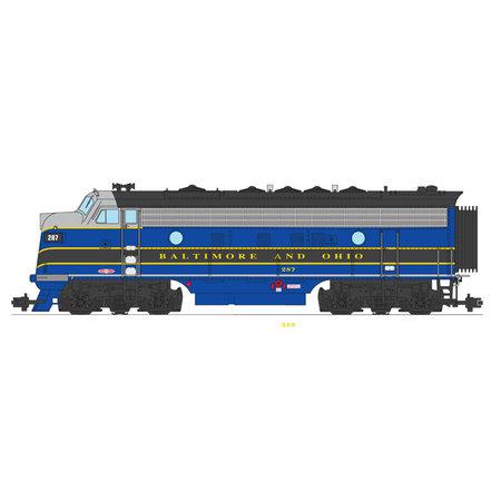 USA TRAINS F7 A Baltimore & Ohio  blau/grau