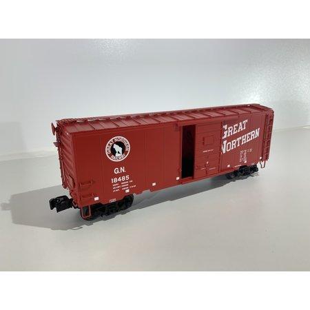 Eigenbau 40 Fuss PS-1 Great Northern Boxcar (Spur 0) Neuwertig von Lionel