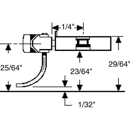 Kadee #23 Spur H0 Kupplungssätze (2 Paare)