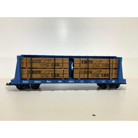 Modellbau Classics Ladegut 8x Holzpaket CROW LBR. passend für USA TRAINS Flatcars