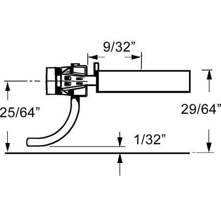 Kadee #158 Spur H0 Whisker Kupplungssätze (2 Paare)