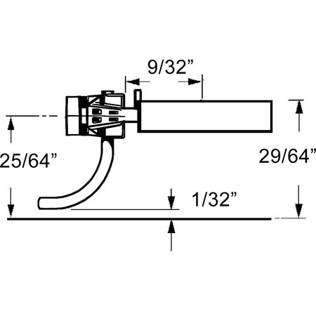 Kadee Spur H0 Kadee Whisker Nr.158 Kupplungssätze (2 Paare)