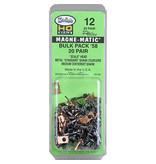 Kadee #12 Spur H0 Grosspackung Bulk Pack '58 Kupplungssätze (20 Paare)