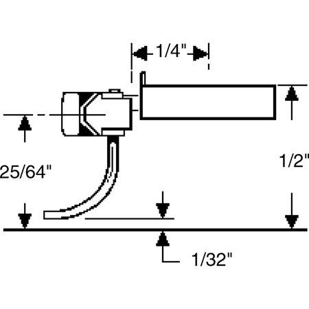 Kadee Spur H0 Kadee Nr.145 Kupplungssätze (2 Paare)