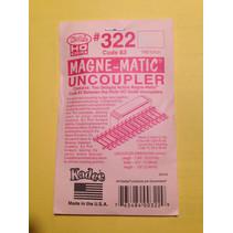 322 Spur H0 2x magnetische Entkuppler