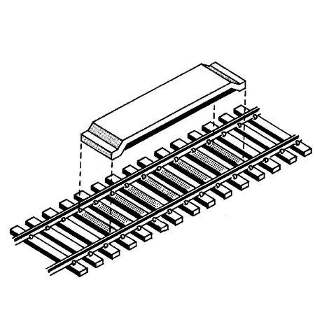Kadee Spur H0 Kadee Nr.322 2x magnetische Entkuppler