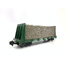 Bulkhead Southern Pacific mit Holzladung sehr guter Zustand
