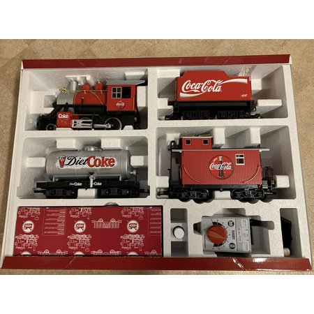 LGB komplettes Coca Cola Startset (Top Zustand) digital mit Sound