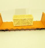 Modellbau Classics Ladegut große Seekiste OSB