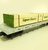 Modellbau Classics Ladegut 4x Holzpaket Lignum Saxonia
