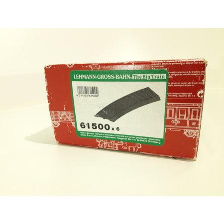 LGB 6x Gleisbett aus Gummi (neuwertig) für 15000