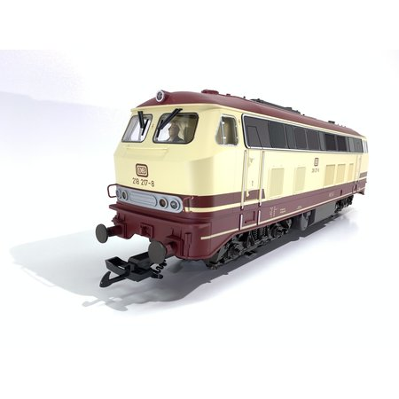 PIKO Diesellokomotive BR 218 beige/rot (neuwertig)