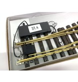 LGB R3 Weiche links, digital, wie neu