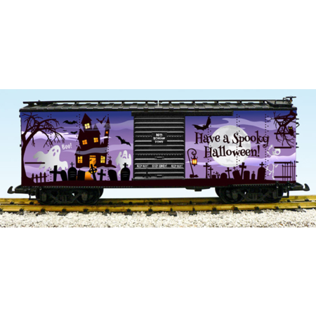 USA TRAINS Spooky Halloween Box Car