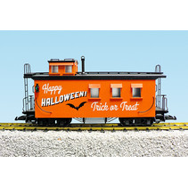 Woodsided Caboose Halloween