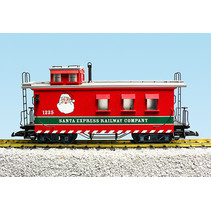 Woodsided Caboose Christmas
