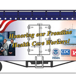"USA TRAINS Reefer ""Honoring our Frontline Healthcare Workers"""